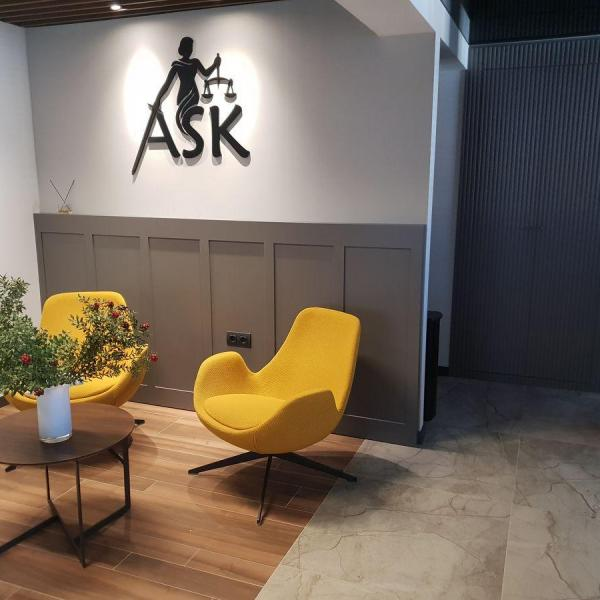 ASK Hukuk Bürosu Dekorasyonu